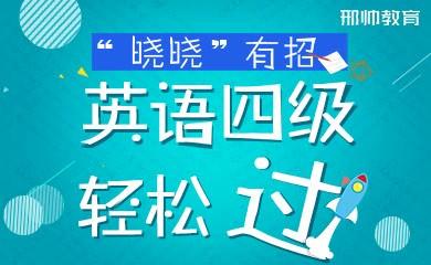 """""""晓晓""""有招——英语四级轻松过"""