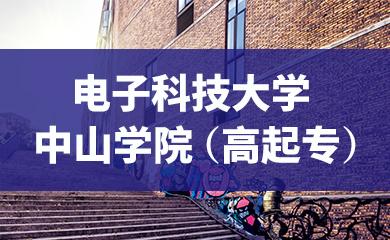 【成考】电子科技大学中山学院(高起专)