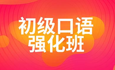 初级口语强化班(直播+录播)