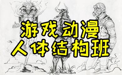 游戏动漫角色设计人体结构班(直播+录播)