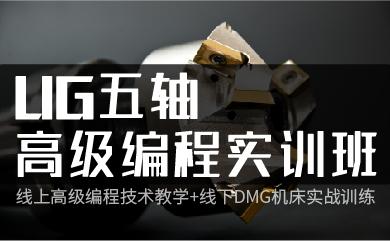UG五轴高级编程实训班(录播)
