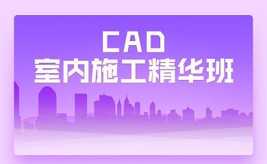 CAD室内施工精华班(直播+录播)